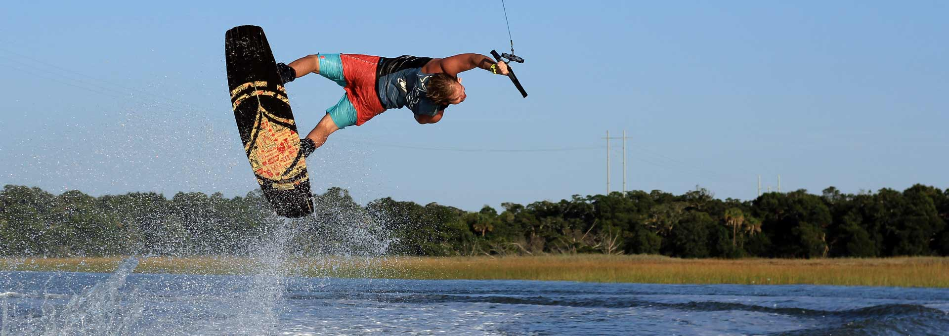 Learn How To Wakeboard. Try Wakeboarding.